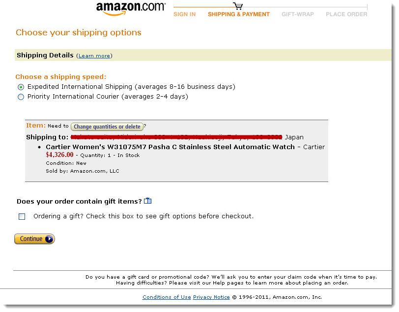 Amazon amazon choose your shipping options negle Images